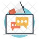 Social Media Virtual Icon