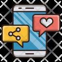Social Media Seo Icon