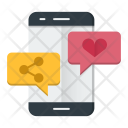Social Media Communication Icon