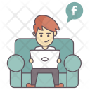 Social Media User Icon