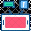 Social Media Advertisement Icon