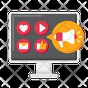 Social Media Advertising Social Media Marketing Marketing Icon