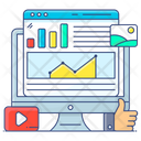 Social Media Evaluation Social Media Analysis Analytical Social Media Icon