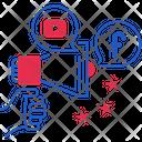 Network Media Campaign Icon