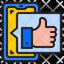 Social Media App Like Hamd Icon