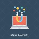 Social Campaign Media Icon