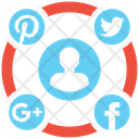 Social Media Campaign Marketing Seo Icon