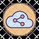 Social Media Cloud Computing Cloud Icon