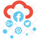 Social Media Cloud Cloud Data Icon