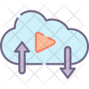 Msocial Media Cloud Social Media Cloud Social Media Icon