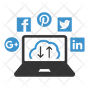 Social Media Cloud Seo Seo Icons Icon