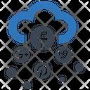 Social Media Cloud Ability Brainstorming Icon