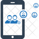 Mobile Business Connection Icon