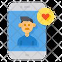 Social Media Like Social Media User Follow Icon