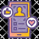 Social Media Live Icon
