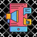 Social Media Marketing Internet Marketing Megaphone Icon