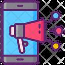 Social Media Marketing Social Media Advertising Marketing Icon