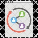 Social Website Development Icon
