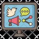 Social Media Merketing Icon