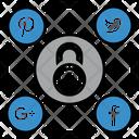 Social Media Security Icon