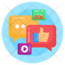 Social Media Feedback Customer Testimonials Feedback Icon