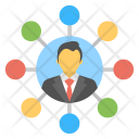 Social Network Global Icon