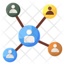 Personal Connection Personal Contacts Social Network Icon