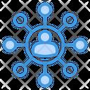 Social Network Social Media Network Icon