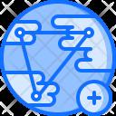 Social Network Planet Icon