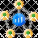 Social Network Analysis Icon