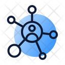 Social Network Connection Icon