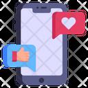 Social Notifications Icon
