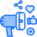 Social promotion Icon