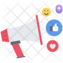 Horn Marketing Promotion Icon