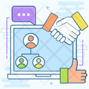 Personal Connection Working Relationship Social Relations Icon