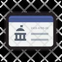 Social Security Card Icon