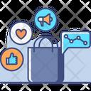 Social Selling Social Media Social Media Marketing Icon