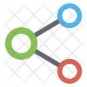 Sharing Connection Network Icon