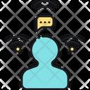 Social Signal Signal Network Icon