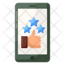 Social Status Mobile Feedback Thumbs Up Icon