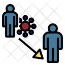 Transmission Maybe Cornavirus Icon