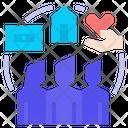Social Welfare Icon