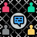 Society Social Talk Icon