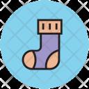 Sock Stocking Footwear Icon
