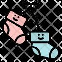 Sock Kid Baby Icon