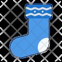 Sock Winter Warm Icon