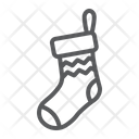Christmas Sock Decor Icon