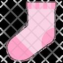 Sock Kid And Baby Baby Socks Icon