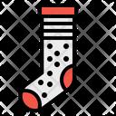 Sock Xmas Clothing Icon