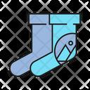 Sock Branding Branding Design Icon